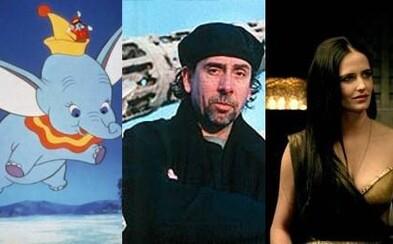 Kultový Tim Burton zrežíruje známy príbeh lietajúceho slona Dumba. Kto si zahrá v remaku nesmrteľnej rozprávky?