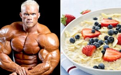 Kulturista Ben Pakulski a jeho mylné rady o raňajkách spôsobili ďalší rozruch na fitness scéne