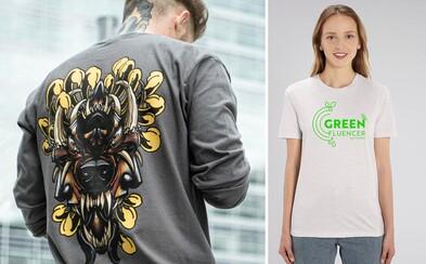 Kúp si tričko alebo mikinu a prispej k tomu, aby bol svet krajším miestom