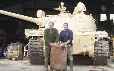 Kúpil si tank za 35-tisíc eur a našiel v ňom zlato za viac než 2 milióny. Zrejme ho tam ukryli vojaci počas Vojny v Zálive