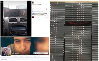 Kuriér, ktorý mal doručiť zásielku z výroby s ešte nevydanými RIIVAL albumami si dovolil otvoriť balík, ukradnúť CD a chváliť sa ním na Facebooku