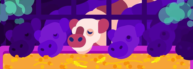Kurzgesagt v animovaném videu přiblížil, jak člověk konzumací masa přispívá k ničení životního prostředí