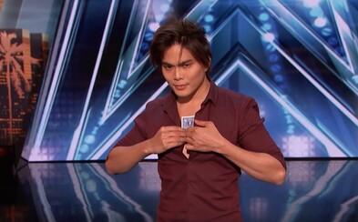 Kúzelník v americkej talentovej šou predviedol vystúpenie, po ktorom prestanete veriť vlastným očiam