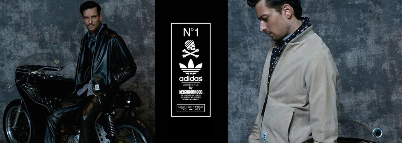 Kvalitní dávka japonského streetwearu ze spolupráce adidas Originals a Neighborhood