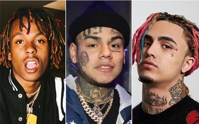 KVÍZ: Poznáš 10 mladých amerických raperů podle obličeje?