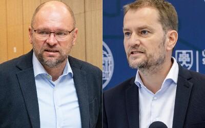 Kvôli sprísneniu opatrení sa pohádali Sulík s Matovičom. Do koaličnej hádky sa postupne zapájajú ďalší politici
