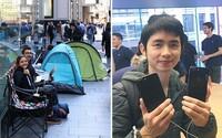 Kvůli iPhonu 7 letěl z Thajska do Austrálie, strávil 18 hodin v dešti před obchodem, ale je spokojený