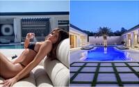 Kylie Jenner si koupila novou majestátní vilu za více než 900 milionů korun. V rezidenci je 7 ložnic a 14 koupelen