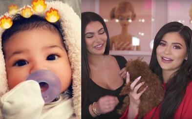 Kylie Jenner v rozhovore s Kim Kardashian vysvetľovala, akým spôsobom vzniklo meno jej dcéry Stormi