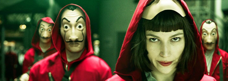 La casa de papel je napínavou loupežní jízdou plnou napětí a šílených nápadů, od které se neodtrhneš (Tip na seriál)