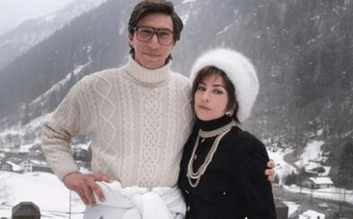 Lady Gaga a Adam Driver odhaľujú prvý záber z filmu House of Gucci od Ridleyho Scotta