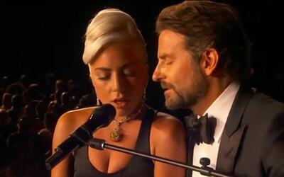 Lady Gaga a Bradley Cooper zazpívali na Oscarech srdceryvný duet Shallow