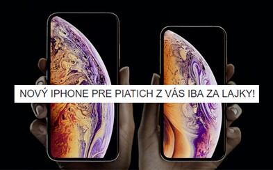 Lajkuj, zdieľaj a vyhraj nový iPhone XS! Slovenskí policajti si z nás už uťahujú, ako vždy naletíme na hlúpe súťaže