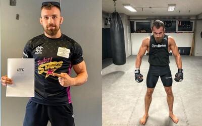 Lajoš Klein se stává 1. slovenským bojovníkem v UFC!