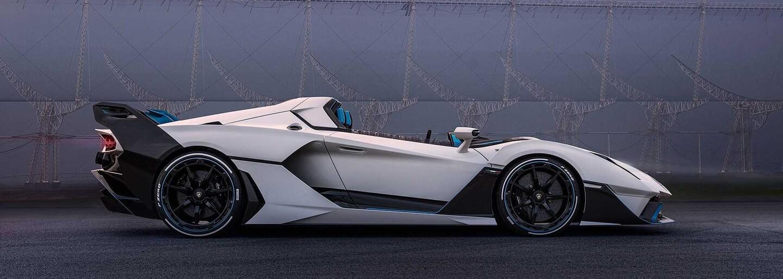 Lamborghini ukázalo specialitku bez čelního okna. Má 770 koní a může na běžné silnice