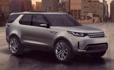 Land Rover Discovery Vision: Nádherné hi-tech SUV!