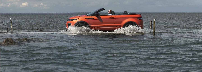Land Rover odhalil unikátny Evoque Convertible, jedinečné SUV so sťahovacou strechou