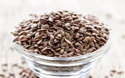 Ľanové semienka - Drobný poklad prírody