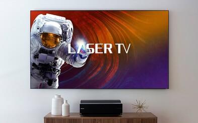 Laser, 100palcová úhlopříčka nebo 4K rozlišení. Takto vypadá moderní televize pro náročné