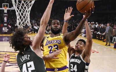 LeBron James odmítá hrát basketbal, pokud kvůli koronaviru zakážou fanouškům přístup na zápasy NBA