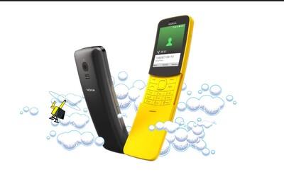 Legenda je zpátky: Banánová Nokia 8110, která se objevila i v Matrixu, se po letech vrací na trh