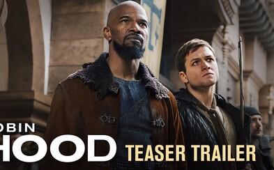 Legenda menom Robin Hood ožíva v akčnom príbehu s Taronom Egertonom a Jamiem Foxxom. Čaká nás stredoveký John Wick?