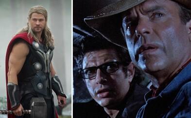 Legenda z Jurského Parku Sam Neill sa pripája ku komiksovke Thor: Ragnarok
