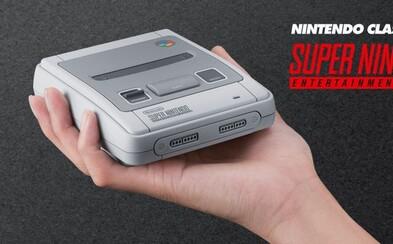 Legendárna herná konzola Super Nintendo sa vráti v zmenšenej podobe a s klasickými titulmi z 90. rokov