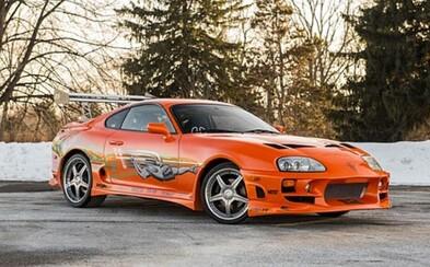 Legendárna oranžová Toyota Supra z Fast & Furious je na predaj!