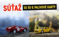 Legendárne modely Ferrari sú späť! So Shell sa teraz vrátiš do detstva a zároveň môžeš vyhrať aj palivovú kartu v hodnote 50 €