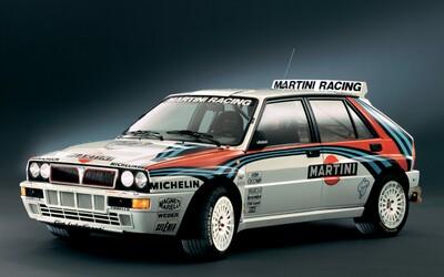 Legendárne rally autá - Lancia Delta