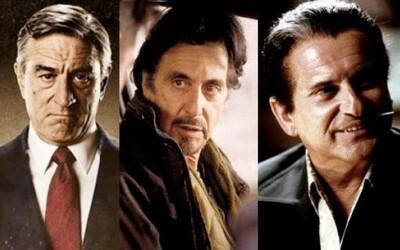 Legendárni Al Pacino, Robert De Niro a Joe Pesci sa stretnú v mafiánskom The Irishman pod vedením Martina Scorseseho!