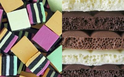 Legendární lékorky, gumoví medvídci, aero čokoláda a další sladkosti, které pocházejí z Anglie