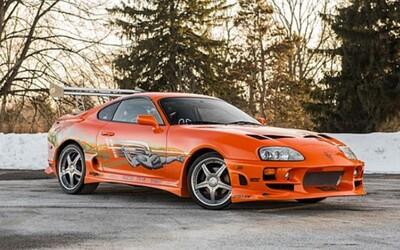 Legendární oranžová Toyota Supra z Fast & Furious je na prodej!