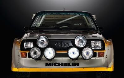 Legendární rally auta #2 - Audi Quattro