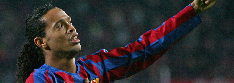 Legendární Ronaldinho vyměnil míč za mikrofon a představuje světu svoji první písničku
