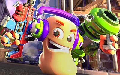 Legendární série Worms se vrací! Nová hra bude battle royale akce pro 32 hráčů