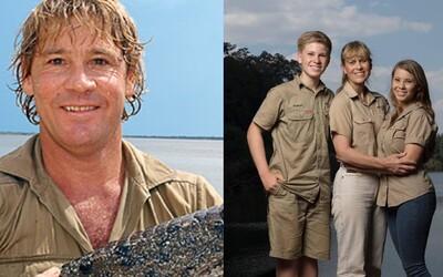 Legendární Steve Irwin se díky své rodině vrátí na televizní obrazovky. Manželka i děti chystají nové show postavené na jeho odkaze