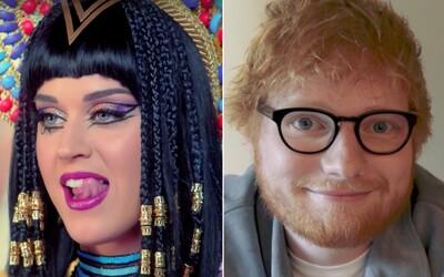 Legendární zpěvák nenáviděl hudbu Eda Sheerana a Katy Perry
