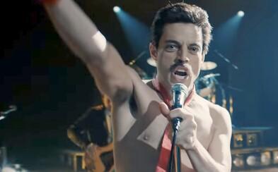 Freddie Mercury ožívá v traileru pro Bohemian Rhapsody a slibuje strhující zážitek