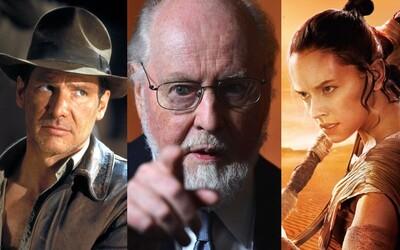 Legendárny skladateľ John Williams zloží hudbu k piatemu Indymu aj ôsmej epizóde Star Wars