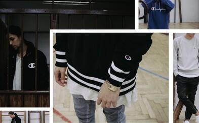 Legendárny sportswear od americkej značky Champion už kúpiš aj u nás