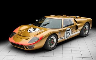 Legendárny zlatý Ford GT40 z roku 1960 bude onedlho dostupný v aukcii za približne 10 miliónov amerických dolárov