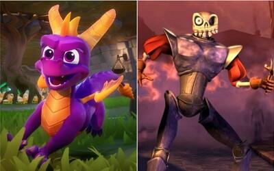 Legendy z prvního PlayStationu se vrací ve velkém stylu. Sleduj nové ukázky z dráčka Spyra a kultovního MediEvil