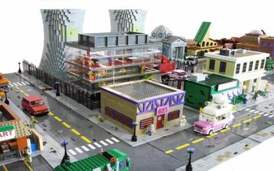 Lego a Simpsonovi v jednom aneb bezchybná přestavba městečka Springfield