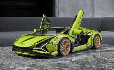 LEGO odhalilo jednu z najnáročnejších stavebníc automobilu. Postaviť si môžeš Lamborghini Sián