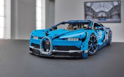 Lego plní sny automobilových fanoušků. Na trh uvádí půlmetrové Bugatti