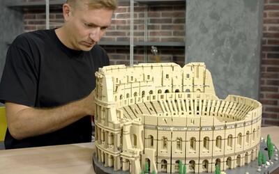 LEGO šokovalo vyše 9-tisíc kockami v novej stavebnici rímskeho Kolosea. Ide o doteraz najväčšiu sadu