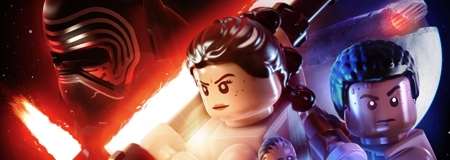 LEGO Star Wars: The Force Awakens ukazuje originálne zábery s Finnom a Poem