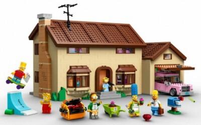LEGO stavebnica Simpsonovcov